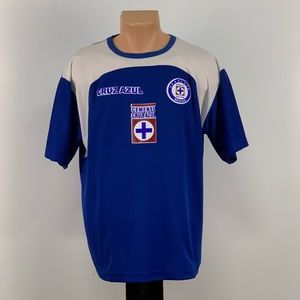 Vintage Cruz Azul Soccer Jersey